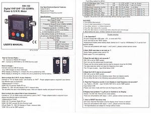 کاتالوگ واتمتر SW-102